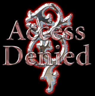 Access Denied, Victorian Style by tybee