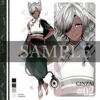 [Set Price] GINZAI Adopt #02 (CLOSE) by pinochu