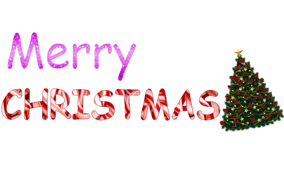 free clipart merry christmas text - photo #42