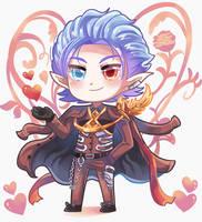 Valentine Grimnir - Granblue Fantasy by Lybica