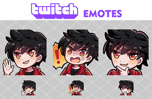 Twitch Emotes xionss by Lybica