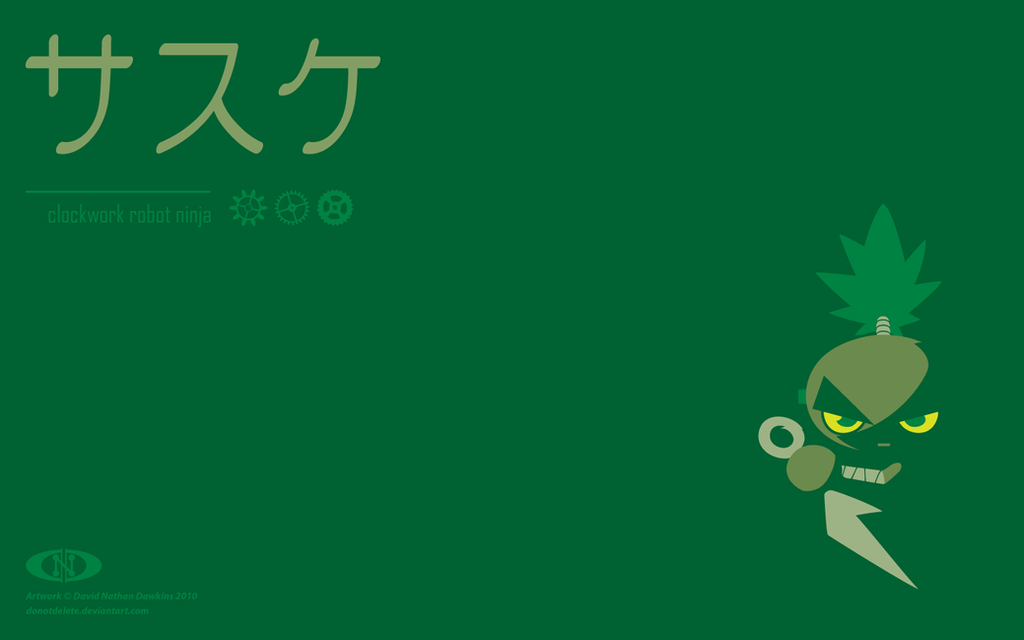 Sasuke: Clockwork Robot Ninja by DoNotDelete
