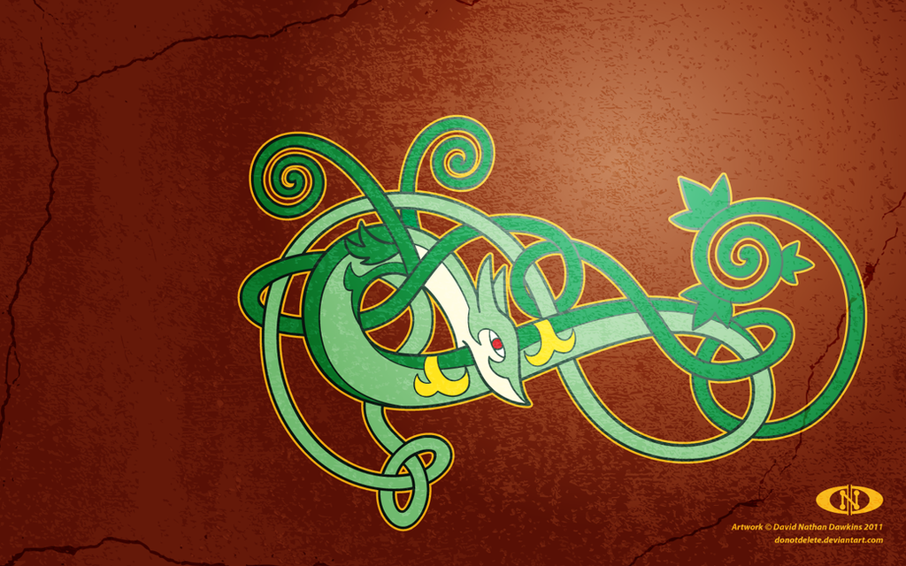 Serperior - Celtic Coil by DoNotDelete