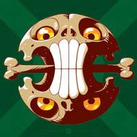 Siamese Skull by DoNotDelete