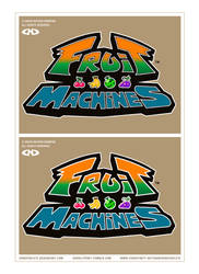 FRUIT MACHINES - Logo - WIP