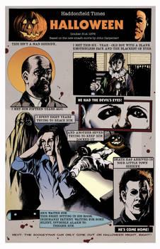 Halloween - The Comic Strip!