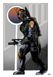 Boba Fett by S-Louis-King