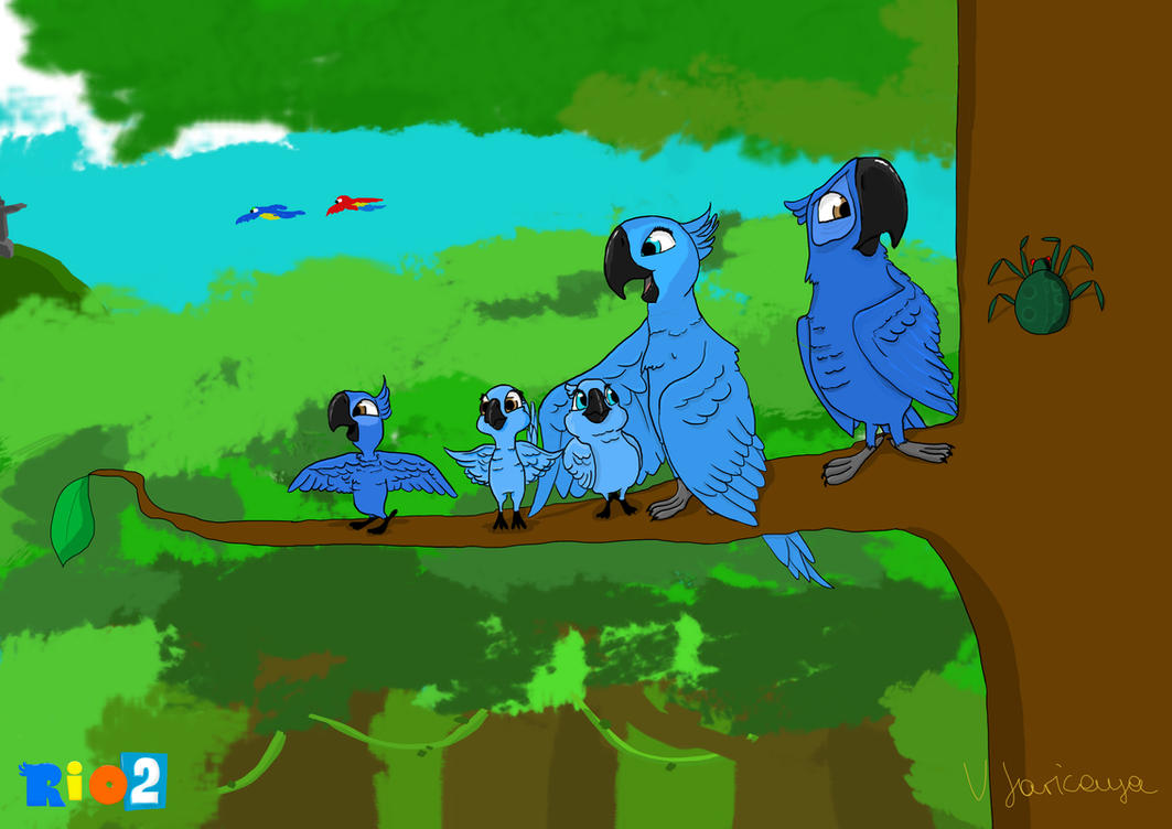 Rio 2 The Call Of The Jungle By Palkonibon On DeviantArt