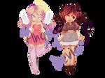 [Chibi Adopt] ANGEL + DEVIL - [2/2 - Closed ]