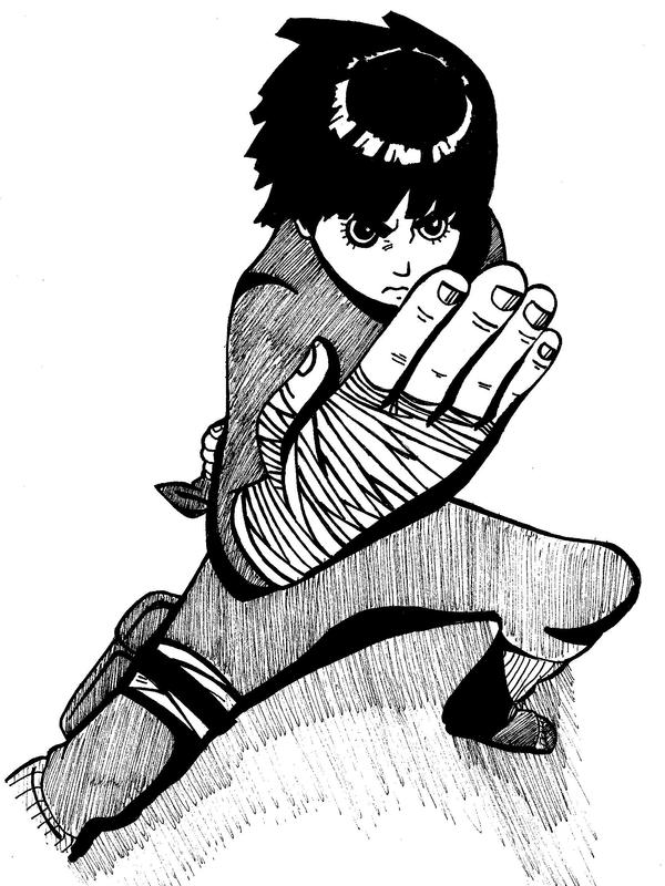 Rock Lee. by umbreontbh on DeviantArt
