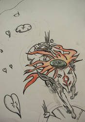 Amaterasu by umbreontbh