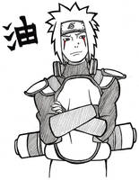 Young Jiraiya by umbreontbh