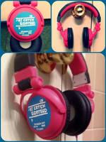 Aoba Seragaki Headphones by silverthorn1231
