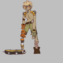 Junkrat by WetraFire-Art