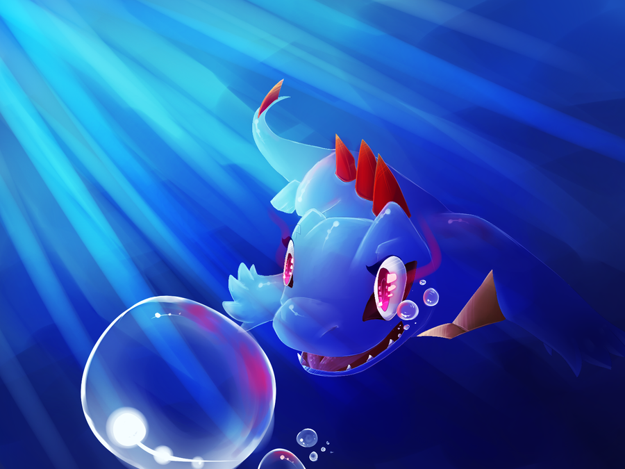 under deep water by xSpickeyx