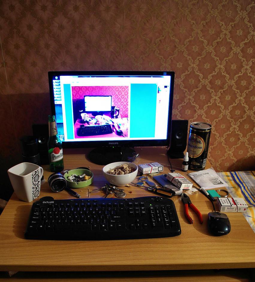 Desktop screenshot by DeathIssue