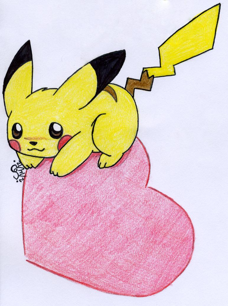 Pikachu Love by PikaMiyaPie on DeviantArt
