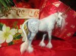 Dapple Gray Unicorn Mare_right