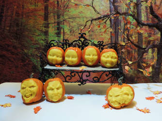 2017 Carved Dollhouse Pumpkins by Ethereal-Beings