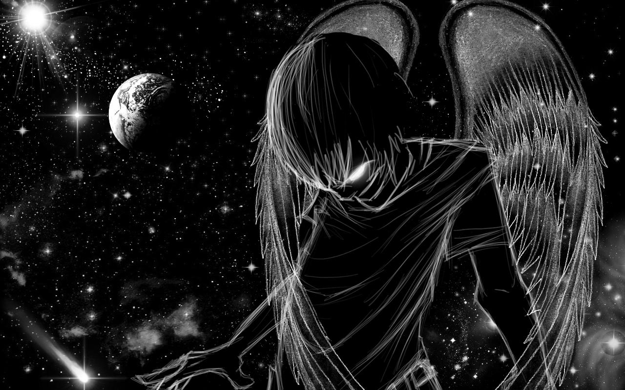 Dark angel of the universe by sacr3d m3ntal1ty on deviantart - Dark angel anime wallpaper ...