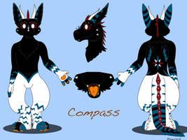 My Angel Dragon Compass by Haxzure
