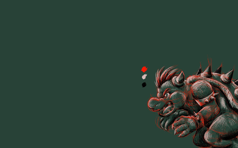 gallery for giant bowser wallpaper
