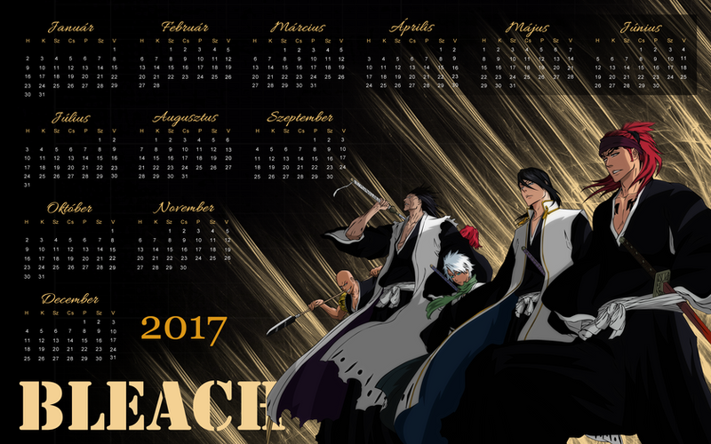 bleach naptár 2017 es eves hatterkep naptar   Bleach by edinaholmes on DeviantArt bleach naptár