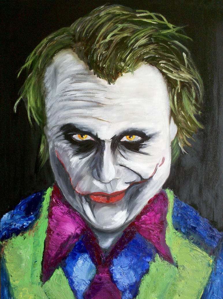 The Joker by Jack-Evans