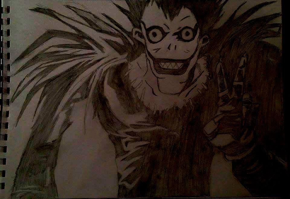 Ryuk from Death Note by Bookworm-Ninja