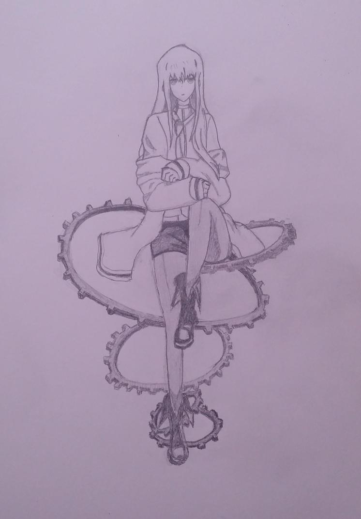 Makise Kurisu by Bookworm-Ninja