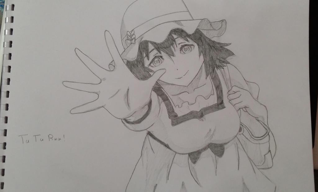 Mayuuri Shiina by Bookworm-Ninja