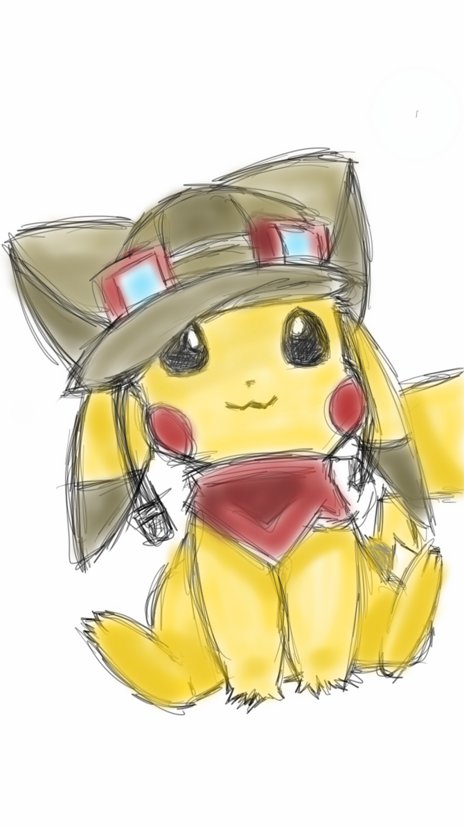 Pikachu by Bookworm-Ninja