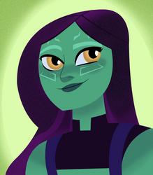 Princess Gamora by TheLemsterPju
