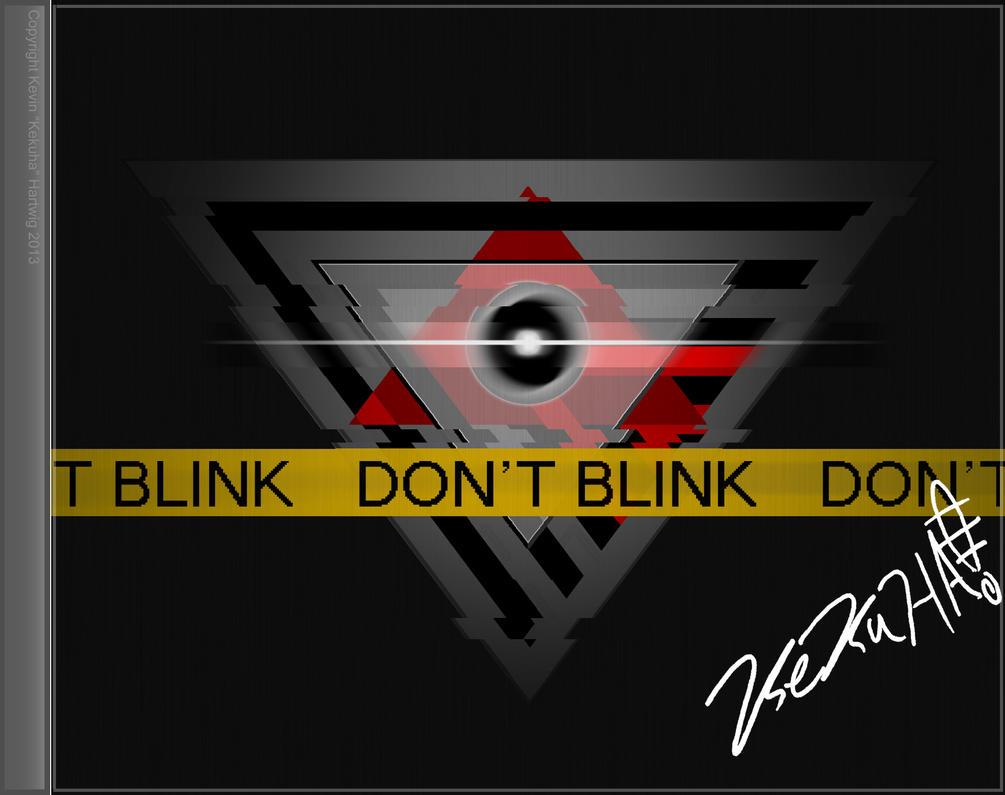Don't blink CD Concept by kekuha