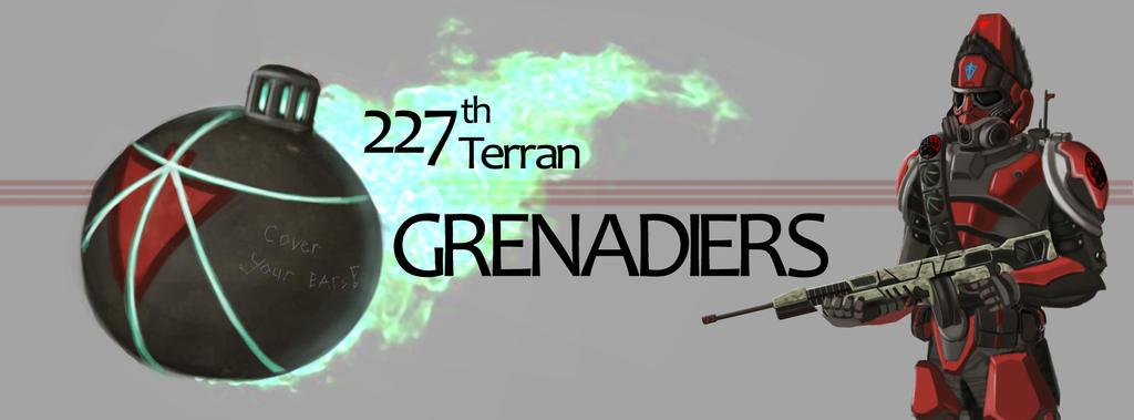 277th terran Grenadiers Cover by kekuha