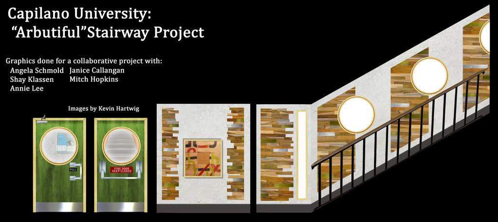 Arbutiful stairway project by kekuha