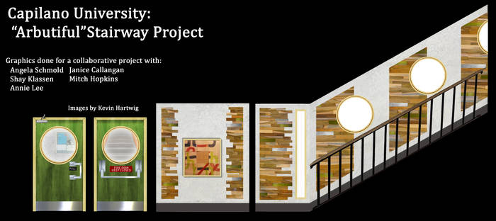 Arbutiful stairway project
