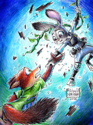 Zootopia - Reach by Pen-Mark