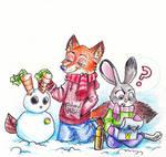 Zootopia - Snow Bunny
