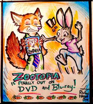 Zootopia on DVD!