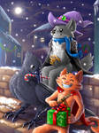 Speedpaint: Wolf Wizard Holidays!