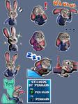 Judy Hopps - Telegram Sticker Pack