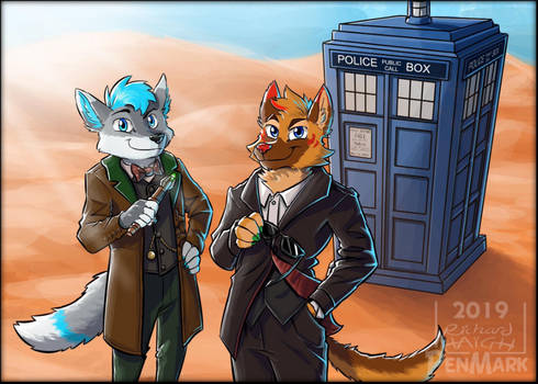 Comm:  DoctorWho - Thory and Spicey