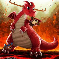 Birthday Dragon! 2018
