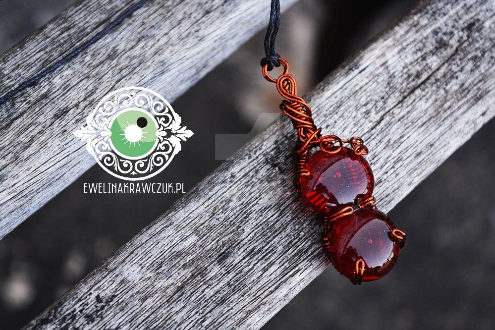 Red Pendant by eeeweeelin