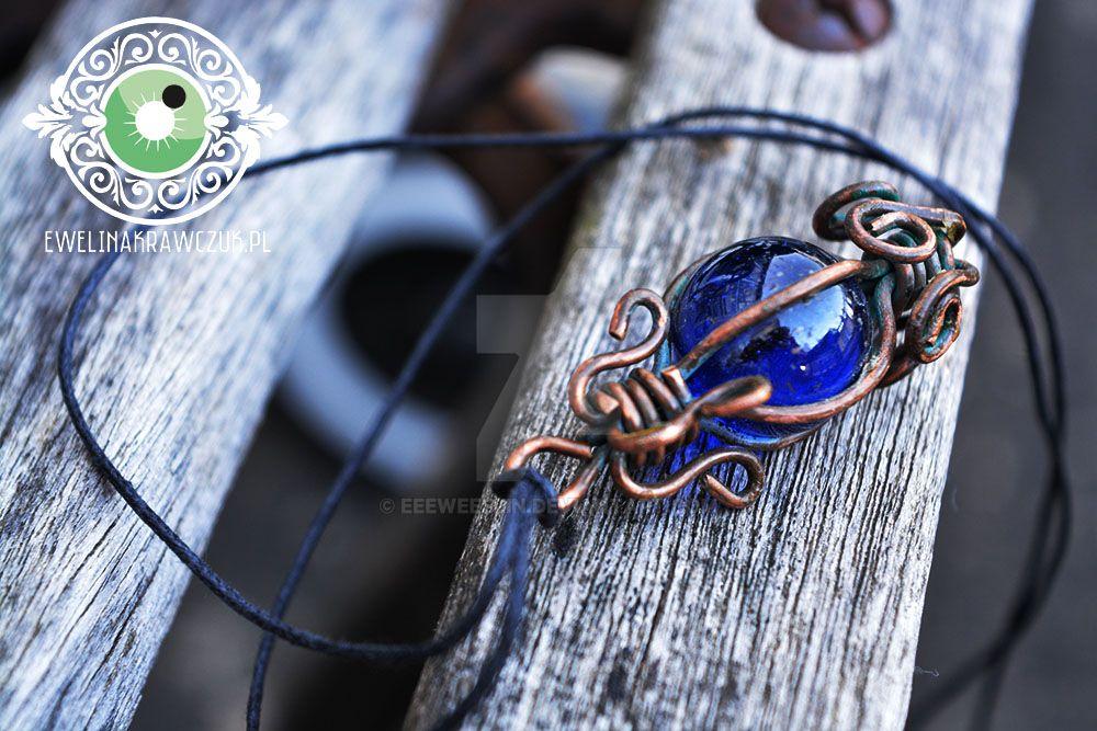 Blue Pendant by eeeweeelin