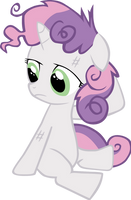Disheveled Sweetie Belle by wnaspp