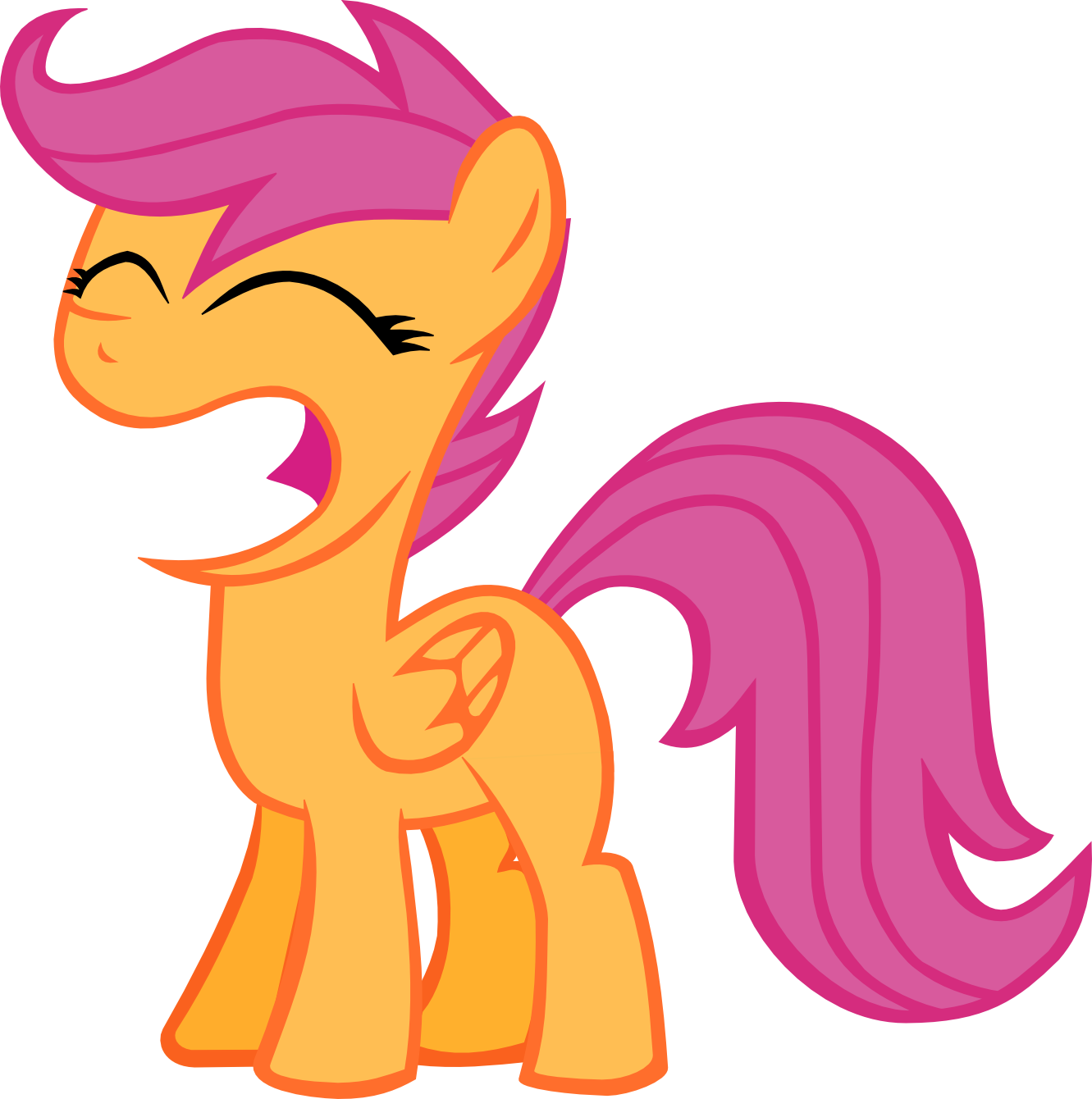 Spam Bucket! (pony related) - Page 26 Happy_scootaloo_by_wnaspp-d4vap3x