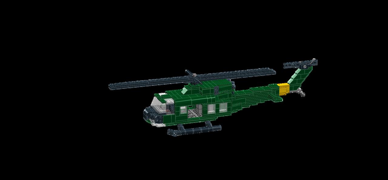 UH-1 Iroquois by Salfaromeab