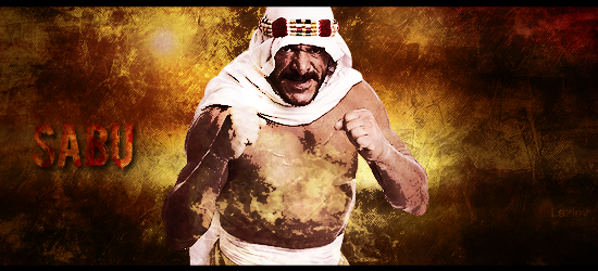 KOF History Moment # 8 : Halloween Havoc 2009 Sabu_by_lazlov